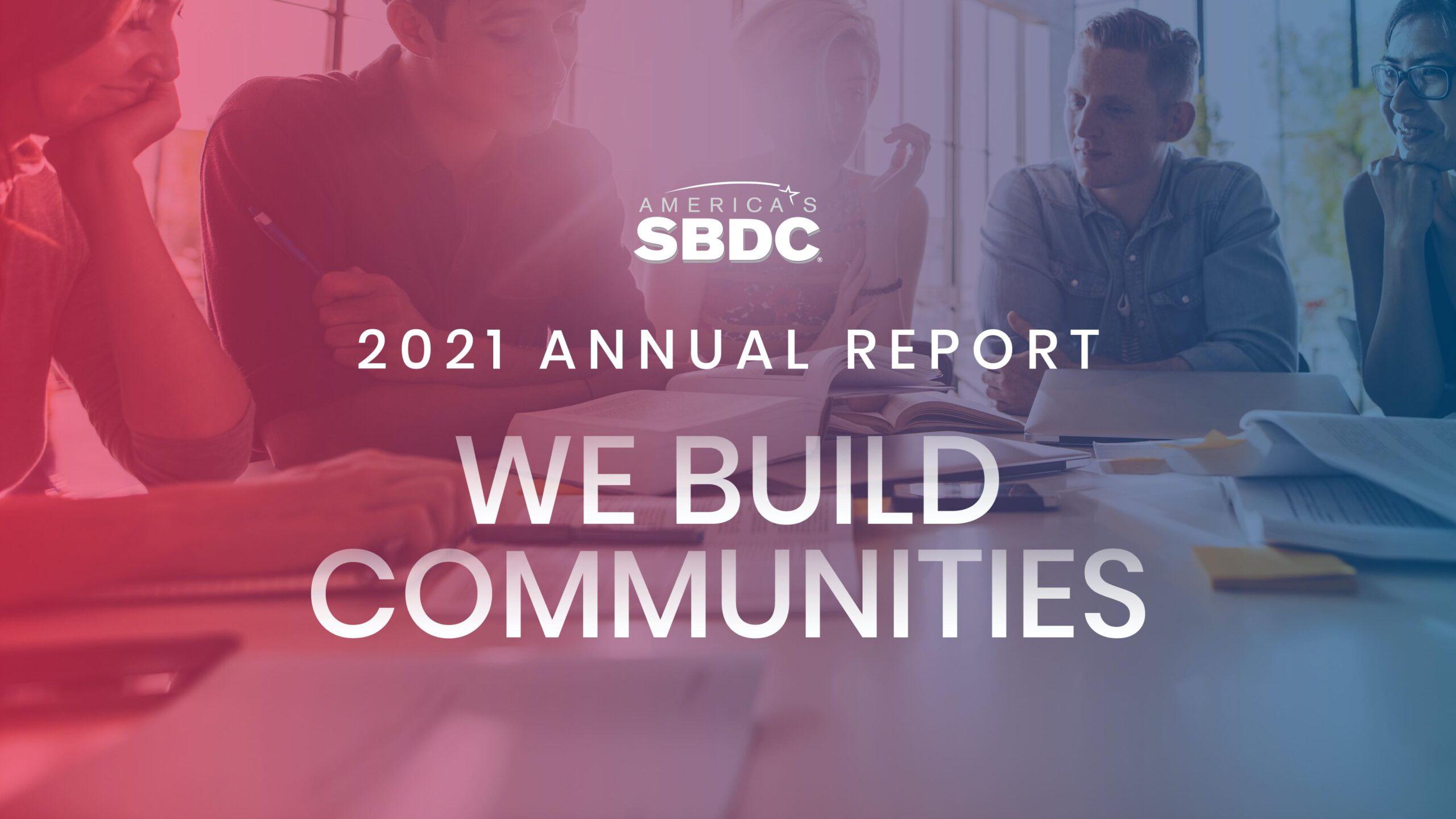 america's sbdc annual report 2021