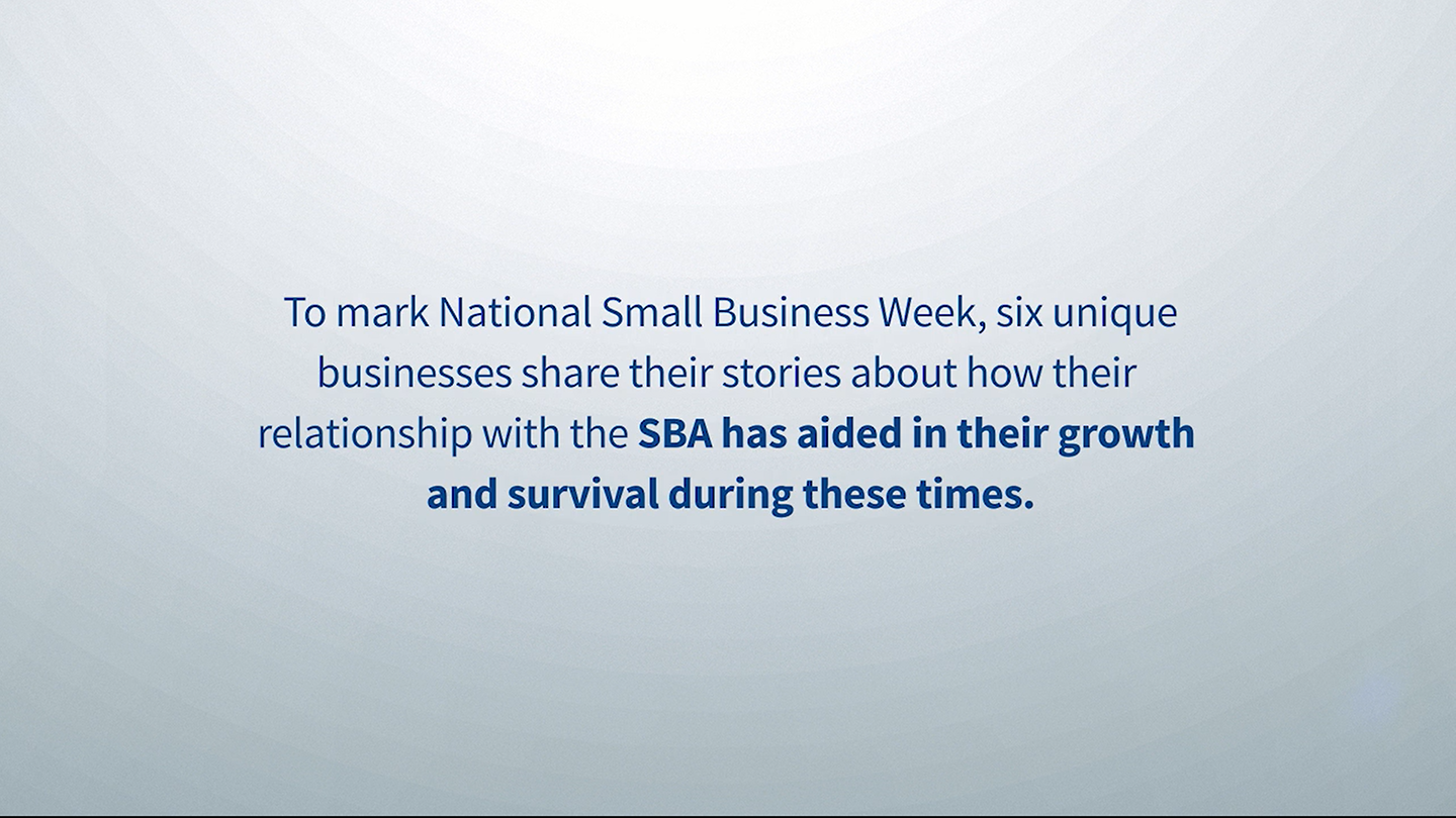 six businesses celebrated receiving SBA aid